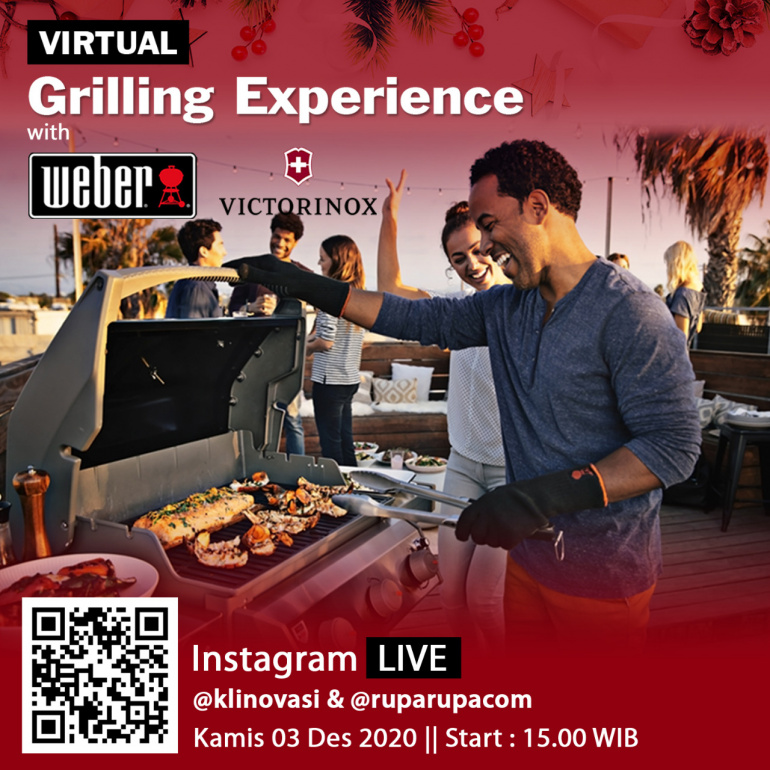 Virtual Grilling Experience with Weber and Victorinox