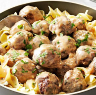 Swedish Meatball ala Bamix