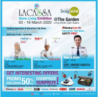 Meriahnya Lacassa Home Living Event!