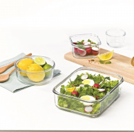 Glasslock Food Container – Clean, Fresh, Easy & Convenient