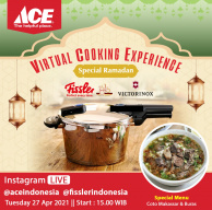 Virtual Cooking Experience Special Ramadhan with Fissler and Victorinox