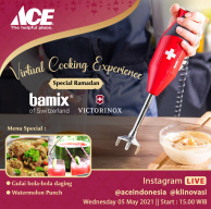 Virtual Cooking Experience Special Ramadhan with Bamix and Victorinox