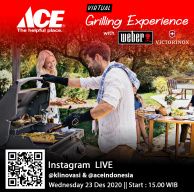 Virtual Grilling Experience with Weber and Victorinox - Collaboration with ACE Indonesia