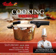 Fissler Cooking Experience at Metro Gandaria City