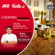 Fissler Cooking Experience with Chef Abud at Endeus Festival
