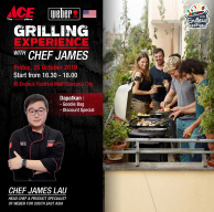 Weber Grilling Experience with Chef James Lau at Endeus Festival