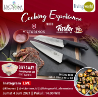 Cooking Experience with Victorinox and Fissler