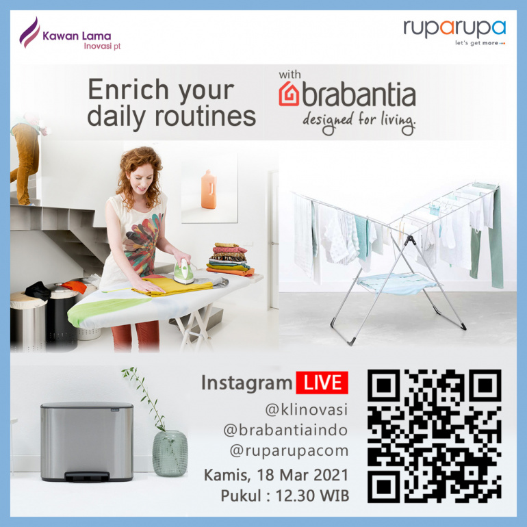 Enrich your Daily Routines with Brabantia