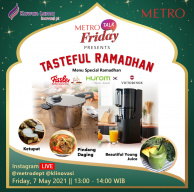 Tasteful Ramadhan with Fissler, Hurom, and Victorinox